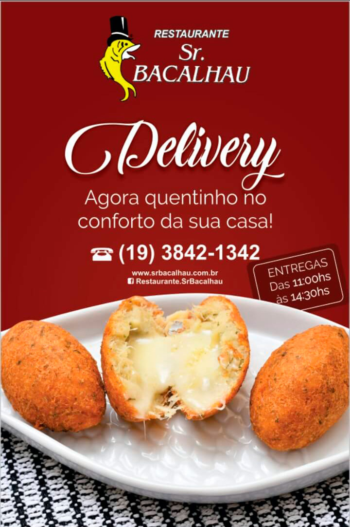 Delivery Sr. Bacalhau
